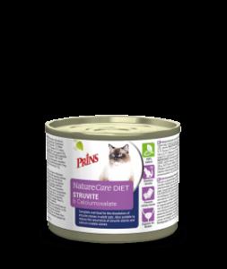 Prins Diet Struvite & Calciumoxalate konservai katėms su šlapimo takų sutrikimais, 200g