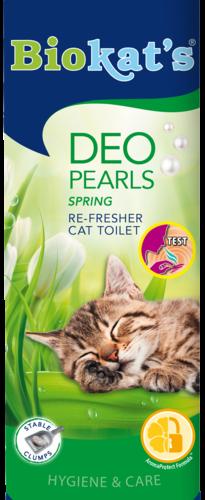 Nemalonius kraiko kvapus naikinantis purškalas Biokat's Deo Pearls Spring, 700 g