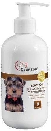 Šampūnas jorkšyro terjerų veislės šuniukams OVER ZOO, 250ml
