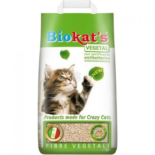 Augalinis kraikas katėms Biokat's Vegetal 5l