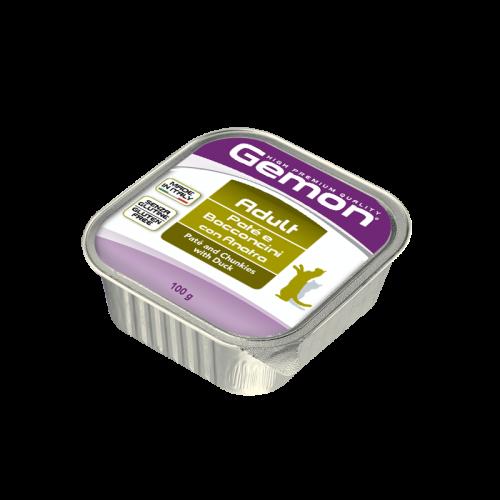 Konservuotas paštetas Gemon Adult (duck), 100g