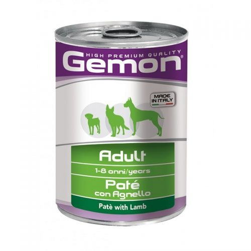 Konservas šunims Gemon all breeds adult (ėriena), 400g