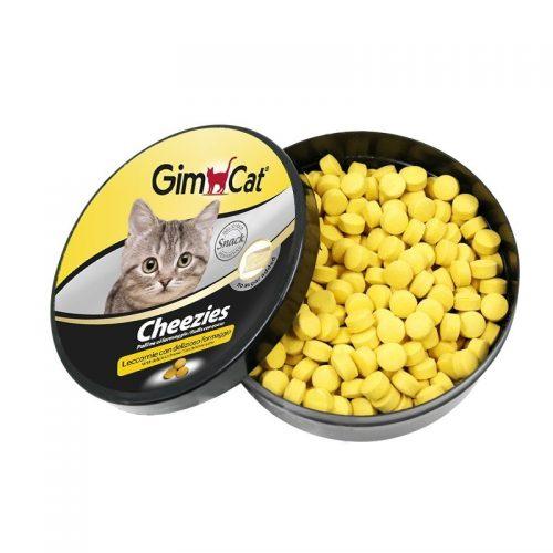 Skanėstai katėms su sūriu GimCat Cheezies, 10g
