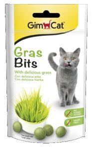 Skanėstai katėms su žole GimCat Grasbits, 15g