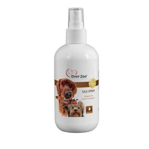 Skystis, palengvinantis šuns kailio šukavimą OVER ZOO Silk Spray, 250ml
