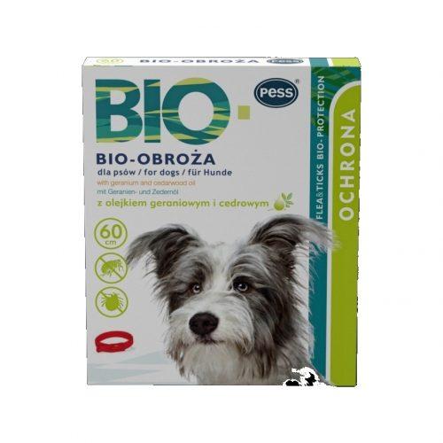 Antkaklis nuo parazitų šunims Pess Bio-Protection su pelargonijų aliejumi, 60cm