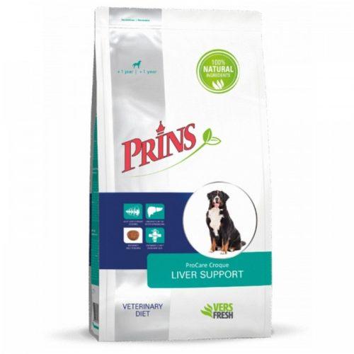 """Sausas maistas suaugusiems šunims kepenų funkcijos palaikymui """"Prins procare croque liver support"""", 10kg"""