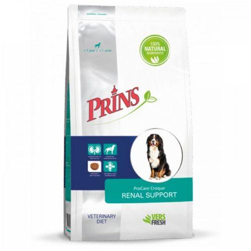 """Sausas maistas suaugusiems šunims inkstų funkcijos palaikymui """"Prins procare croque renal support"""""""