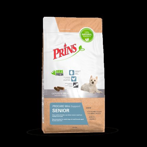 """Sausas maistas vyresnio amžiaus mažų veislių šunims """"Prins ProCare Mini Senior Support"""", 7.5kg"""