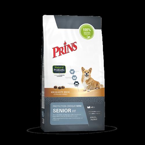 """Sausas maistas mažų veislių vyresnio amžiaus šunims """"Prins Protection Croque Mini SENIOR Fit"""", 10kg"""