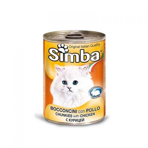 Konservai katėms Simba chicken, 415 g