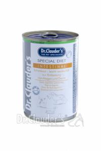 DR. CLAUDER'S Special Diet Intestinal specializuotas drėgnas maistas skrandžio ir žarnyno problemų turintiems šunims 400g